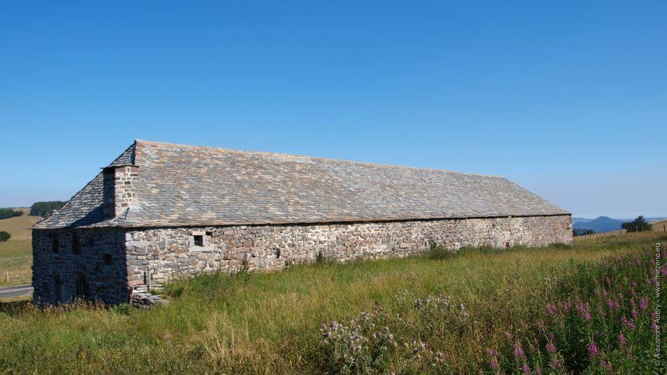 Ferme du Bourlatier et son magnifique toit de lauzes