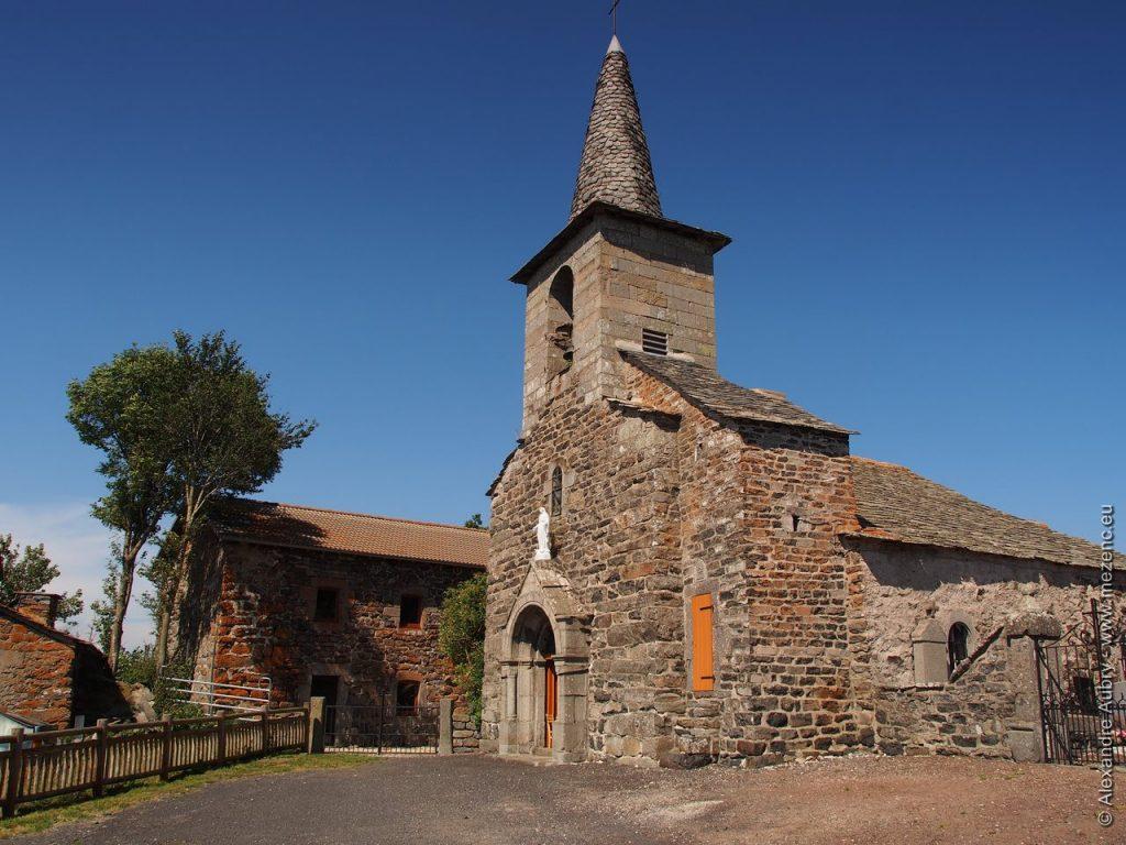 Eglise romane de Champclause