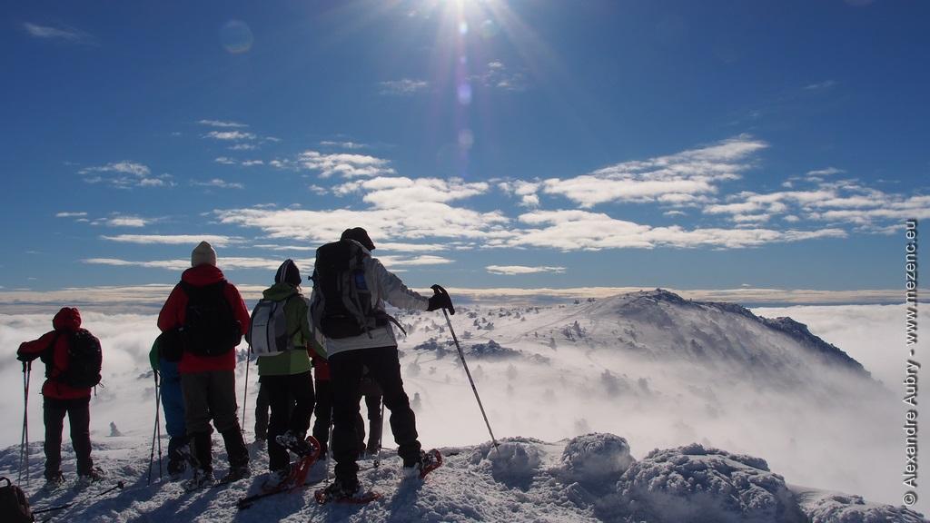 Sur le sommet du Géant des Cévennes