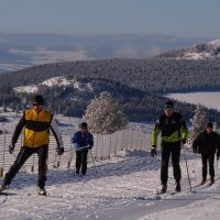 Ski de fond sur le domaine nordique des Estables