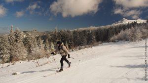 Ski de fond aux Estables (Auvergne)