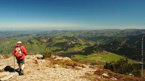 Les Boutières depuis le sommet du Mont Mézenc