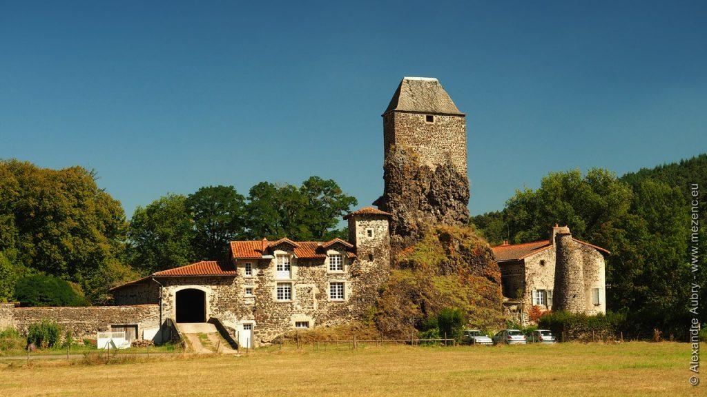 Maison forte à Coubon